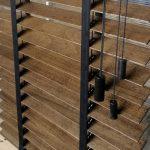 Veneciana de madera 17023 escalerilla en negro.