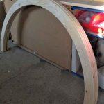 Arco persiana cadenilla madera