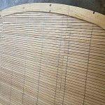 Arcos y formas especiales persianas de madera