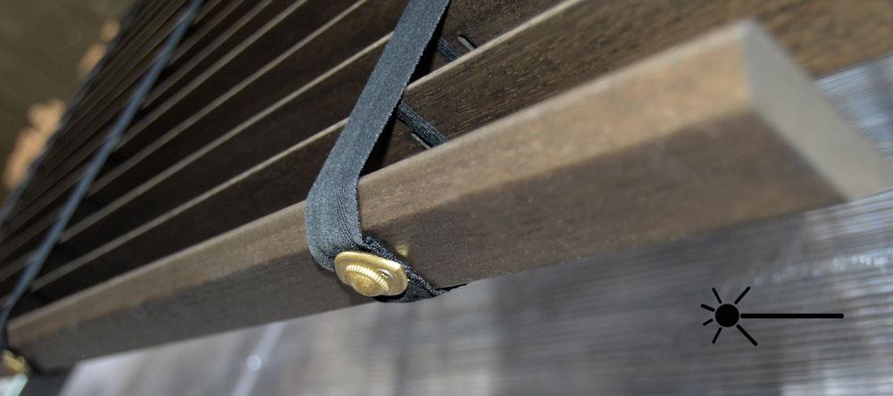 Remate escalerilla de cinta.